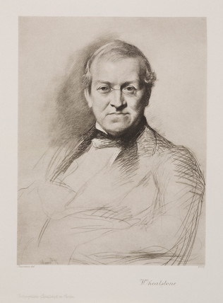 Sir Charles Wheatstone, English physicist, c 1855.