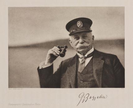Count Ferdinand von Zeppelin, airship designer, 1910.