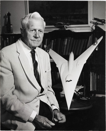 Sir Barnes Wallis, English aeronautical designer, 1968.
