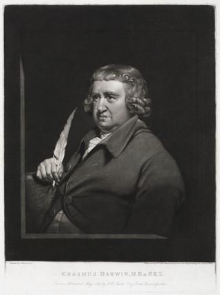 Erasmus Darwin, English physician, 1797. by Smith, J R at ...