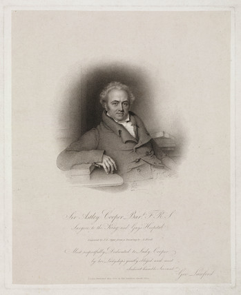 Sir Astley Cooper, early 19th century.