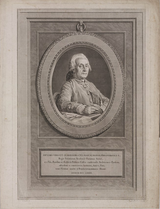 Jean Rodolphe Perronet, French civil engineer, 1782.