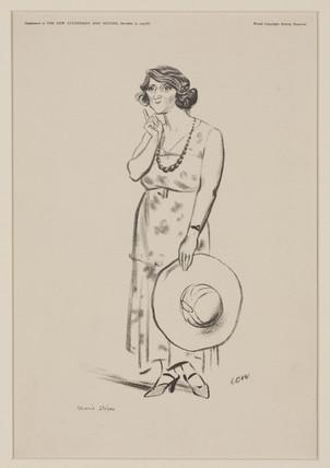 Marie Stopes, British feminist, 1933.