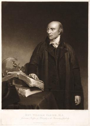 William Farish, chemist, c 1815.