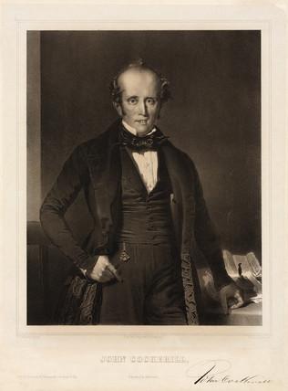 John Cockerill, English manufacturer, 1830s.