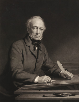 Samuel Cousins, British printmaker, 1883.