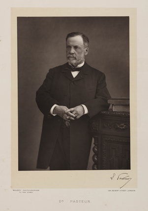 Louis Pasteur, French chemist and microbiologist, c 1880s.