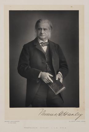 Thomas Henry Huxley, British biologist, 1880s.