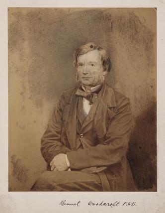 Bennet Woodcroft, English engineer, c 1860.