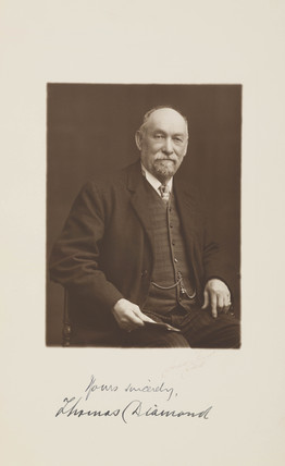 Thomas Diamond, c 1900.