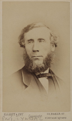 John Tyndall, Irish physicist, c 1875.