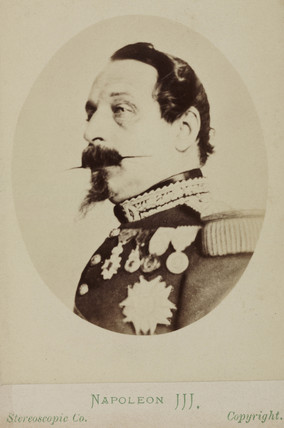 Napoleon III, Emperor of France, c 1860s.
