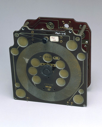 Partially asembled 2-valve radio receiver, 1947.