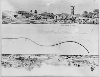 'View South of the Line', 1848.