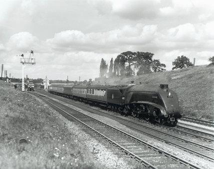 A4 'Seagull' at Oakleigh Park, 1957.