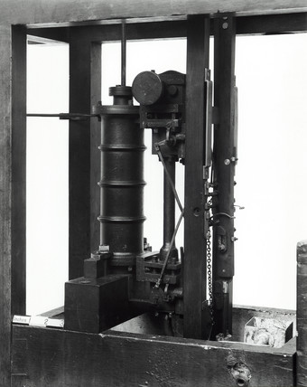 Single action pumping engine, Watt model.