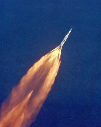 Apollo 11 Launch, 1969.