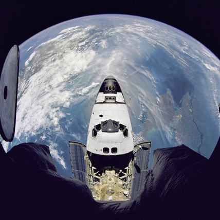 Fish-Eye View of Atlantis, 1995.