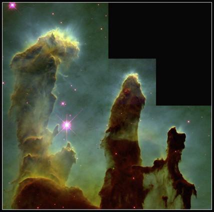 The Eagle Nebula, 1995.