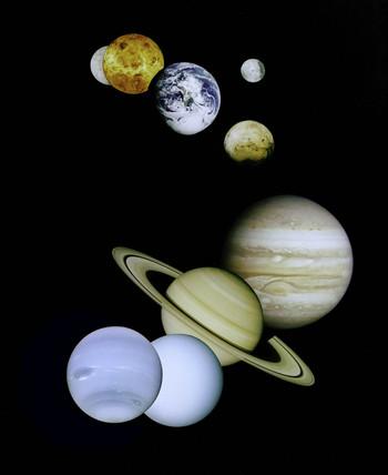 Solar System Montage, 1999.