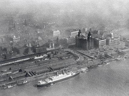 Liverpool Docks, 1933.