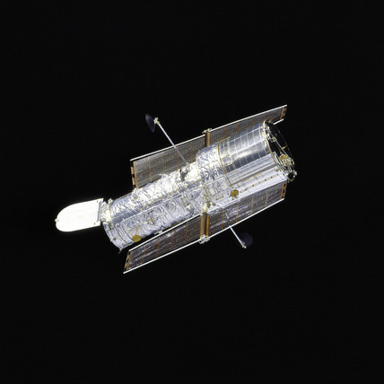 Hubble Redeployed After Second Servicing, 1997.