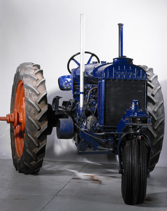 Fordson Model 'N' rowcrop agricultural tractor, 1940.