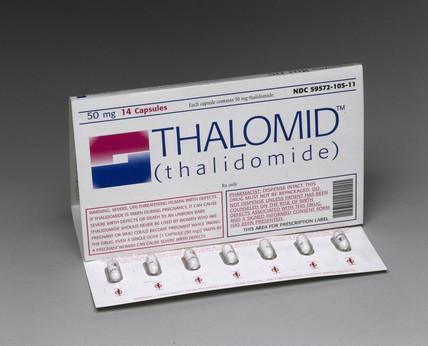 Thalomid (thalidomide) capsules, 1999.