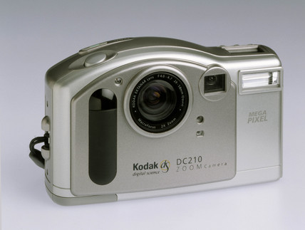 Kodak 'DC210' digital camera, 1998.