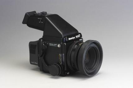 Mamiya RZ67 medium format camera, 2002.