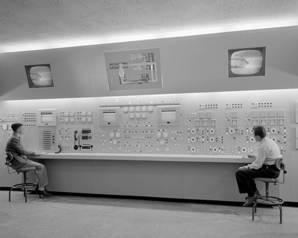 Wind tunnel, Langley Research Center, USA, 1955.