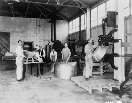 Metal shop, Langley Research Center, USA, 1 January 1928.