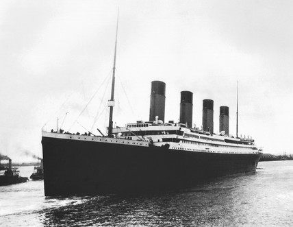 The Titanic, seen shortly before she sailed on her last voyage (Source: Science Museum / SSPL)