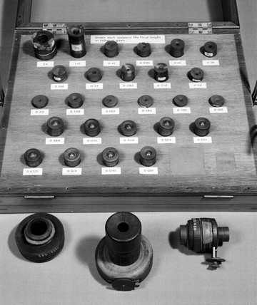Selection of 26 eyepieces made by Sir William Herschel, 1780-1800.
