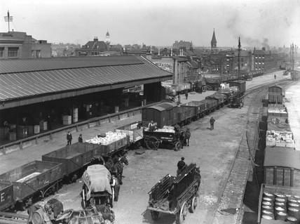 'Continental Bank', Bishopsgate Goods Depot, London, 4 June 1925.