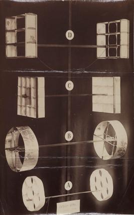 Hargrave cellular kites, 1893.