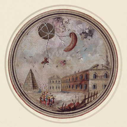 An early ballooning disaster, c 1785.