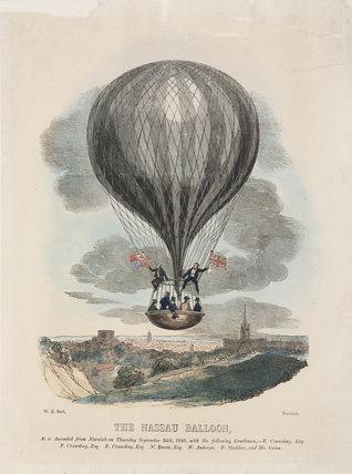 'The Nasau Balloon', 24 September 1840.