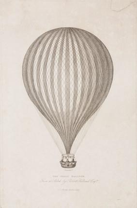 'The Great Balloon', 19th century.