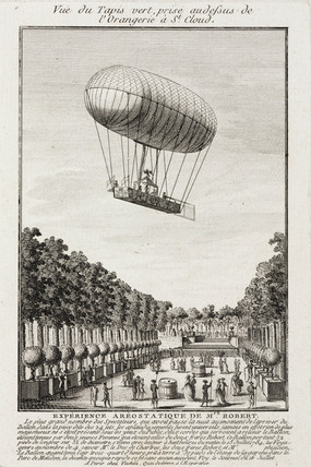 'Robert's aerostatic Experience', 15 July 1784.