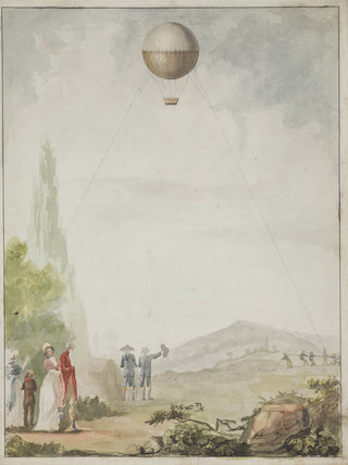 aerostatic reconnaisance at Mainz, 1795.