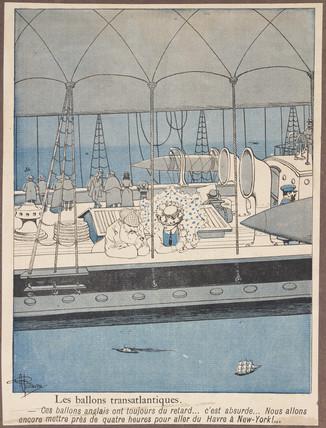 'Transatlantic Balloons', 1901.