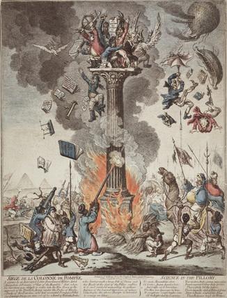 'Siege of the Pompeii Column', c 1799.