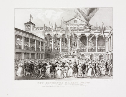 'New Hungerford Market, London', 2 July 1833.