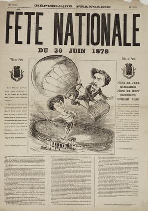 'National Fete', France, 30 June 1878.