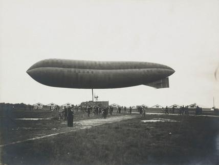 HMA 'Delta' airship, 1913.