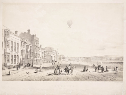 Green's ascent in the 'Albion' balloon, 12 August 1842.