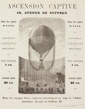 'Captive Ascension', c 1850.