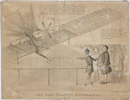 'The New Transit Monomania', 1843-1846.