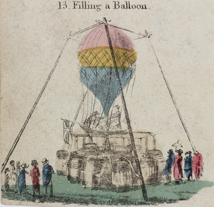 'Filling a Balloon', 19th century.